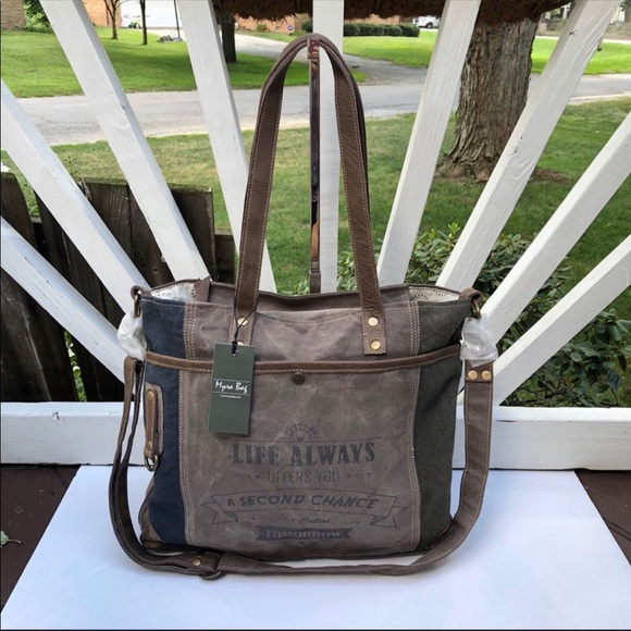 e73975ed197c Myra Bags | Bag Life Always Upcycled Canvas Shoulder Bag | Poshmark